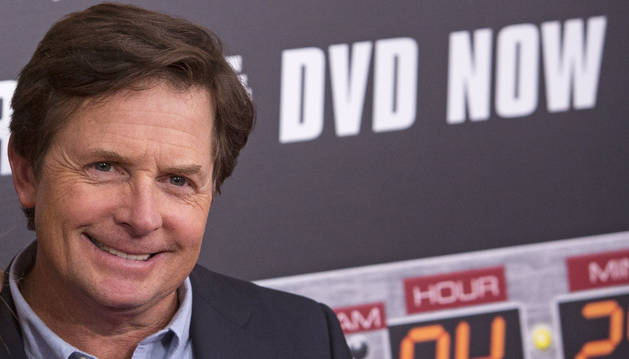 El actor estadounidense Michael J. Fox.