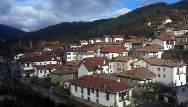 Localidad de Vidángoz, uno de los ayuntamientos donde no hubo candidaturas en mayo.