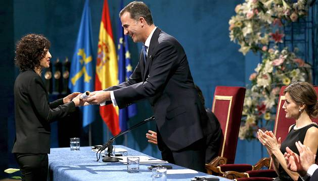 Oviedo acogió este viernes 23 de octubre la entrega de los Premios Princesa de Viana 2015.