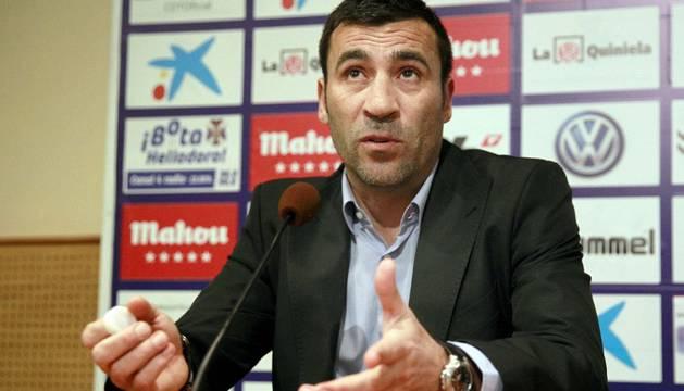 Raúl Agné, entrenador del Tenerife.