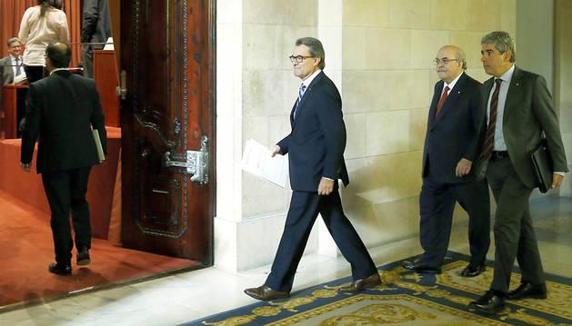 La oposición exige a Artur Mas que renuncie a repetir como presidente