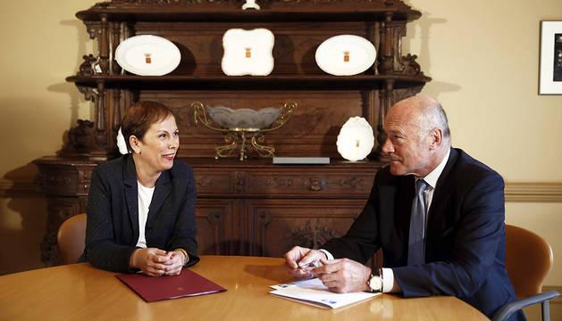 Navarra y Aquitania trabajan la entrada de la Comunidad foral a la eurorregión