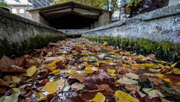 Las señales de alarma se percibieron en Ancín cuando se secaron las fuentes de San Fausto.