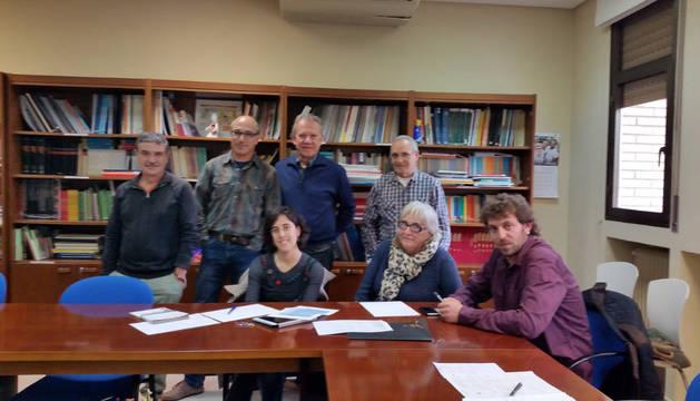 Comisión mixta de vivienda de Tudela.