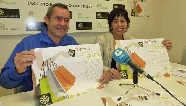 José Flamarique y Cristina Jordana presentaron la campaña.