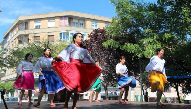Actuación en la Jornada Intercultural Lasa celebrada este año.