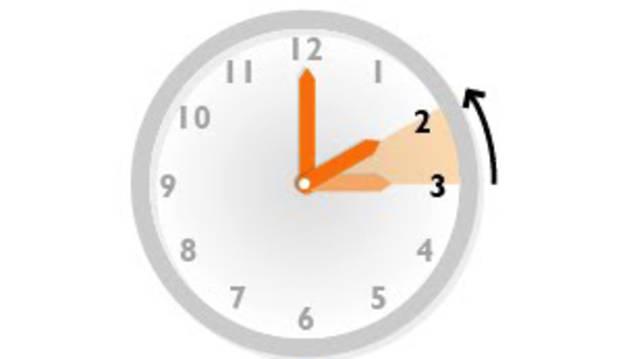 Esta noche ha regresado el horario de invierno con el cambio de hora