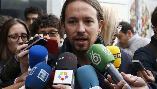 Iglesias plantea blindar el derecho a decidir y la lucha contra la corrupción