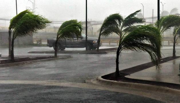 El huracán 'Patricia', en México.