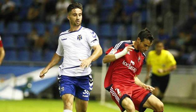 Osasuna se deja empatar en el descuento en Tenerife (2-2)
