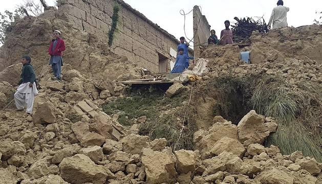 Terremoto de 7,5 grados en el Himalaya