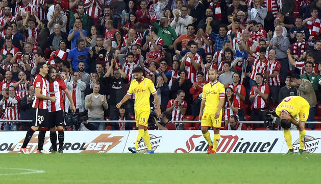 San Mamés se blinda en la visita asturiana (3-0)