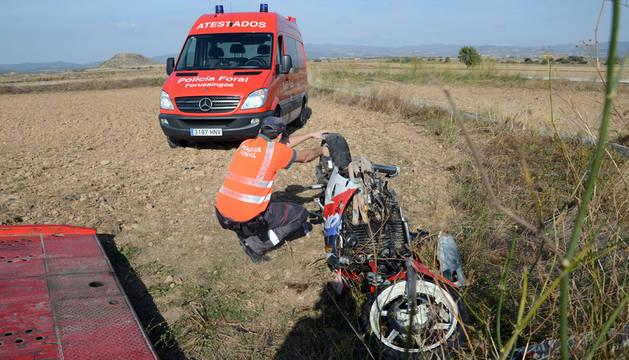 Herido grave un motorista en un accidente ocurrido en Figarol
