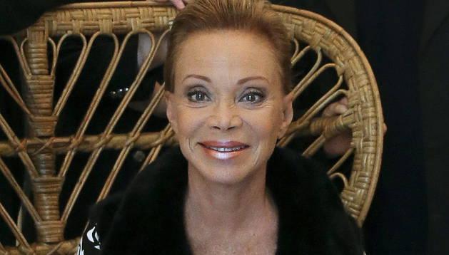 La cantante madrileña Paloma San Basilio.