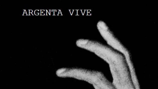 Cartel de la pelicula 'Argenta vive', de Pablo Iraburu y Migueltxo Molina.