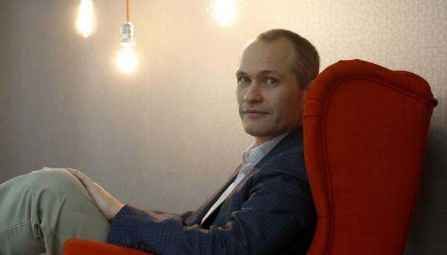 El escritor David Vann.