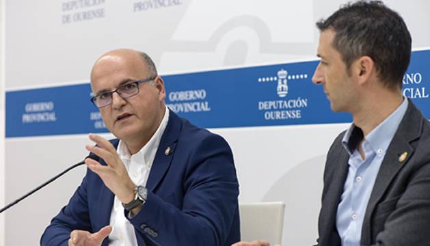 El presidente de la Diputación de Ourense, Manuel Baltar.