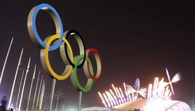Clausura de los Juegos de Invierno de Sochi.