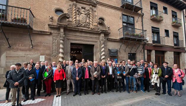 Participantes en la XI edición del Seminario de las Dos Navarras.