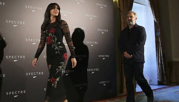 Mónica Belluci se convierte en la primera 'mujer Bond'