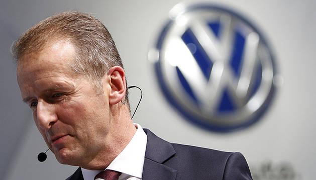 Herbert Diess, director de Volkswagen.
