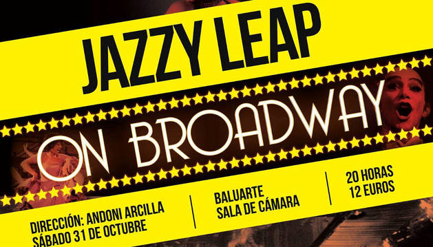 Cartel de 'Jazzy Leap on Broadway'