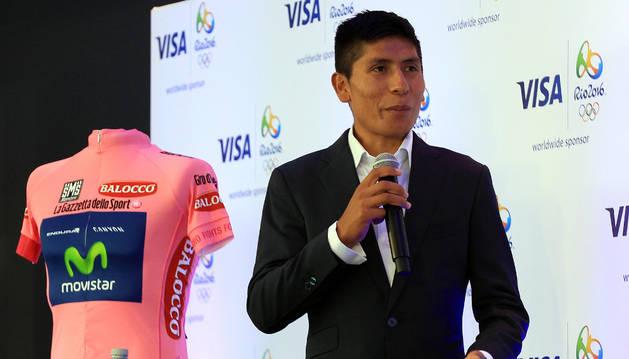 El colombiano Nairo Quintana.