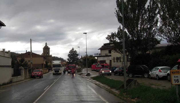 Fallece atropellado por un camión un hombre en Puente la Reina