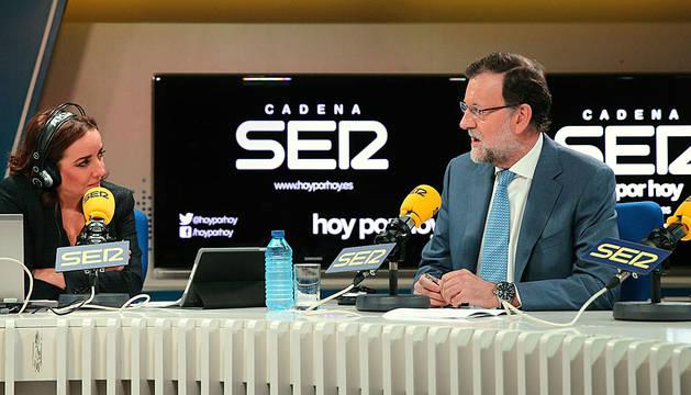 Rajoy, entrevistado por Pepa Bueno.
