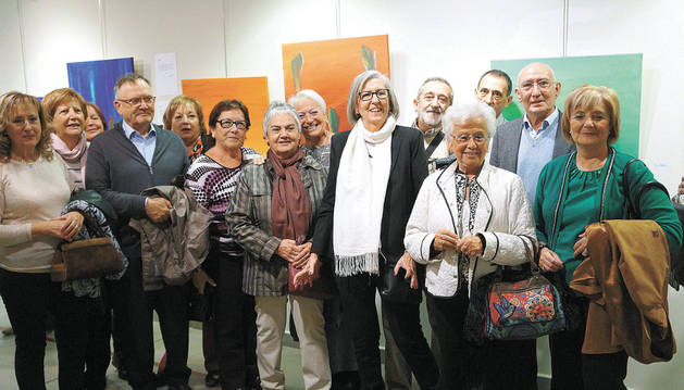 La pintora y esmaltista Mª Carmen Domínguez expone en el museo de Castejón