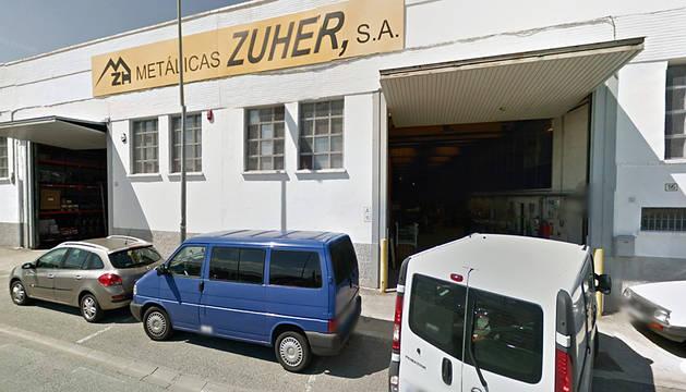 Exterior de la empresa donde ha ocurrido el accidente laboral.