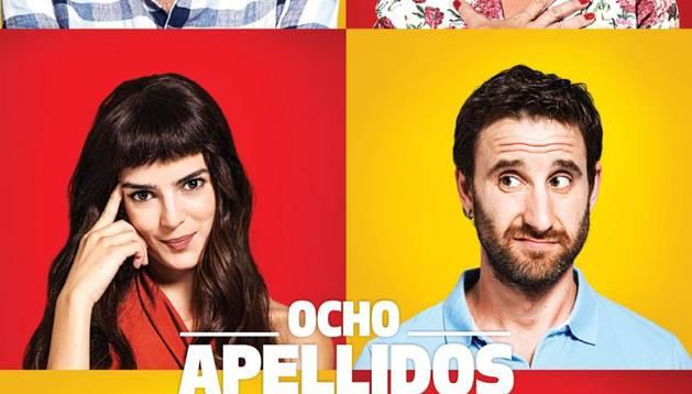 Cartel de 'Ocho apellidos catalanes'.