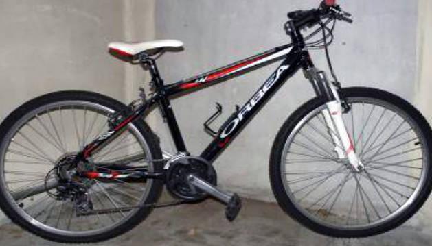 Una de las bicis recuperadas.