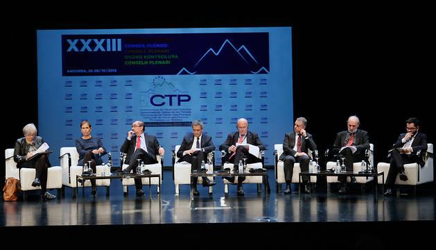 Participantes en el XXXIII Consejo Plenario de la CTP.