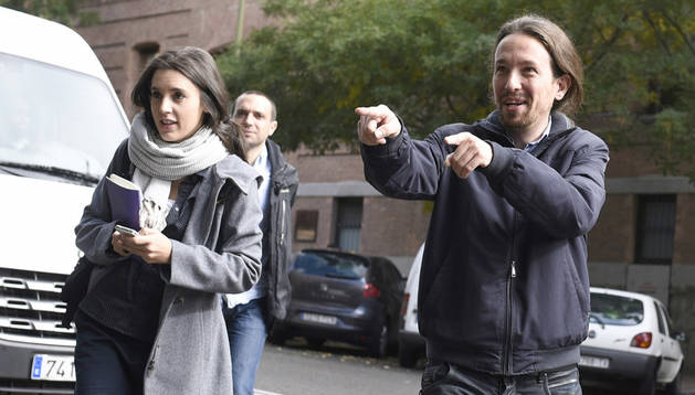 El candidato a la Presidencia del Gobierno de Podemos, Pablo Iglesias.