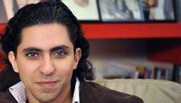 El bloguero saudí Raif Badawi.