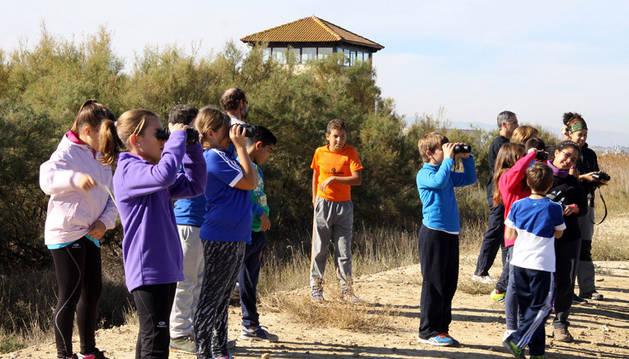 El colegio de Arguedas visita Gurelur