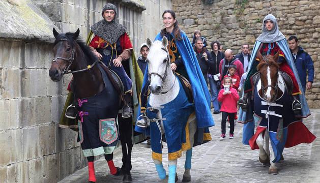 La villa de Aibar se sumerge mañana en el medievo