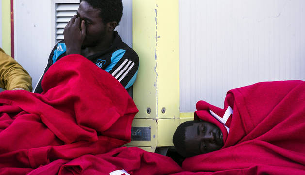 El naufragio de una patera deja 39 desparecidos, dos de ellos bebés