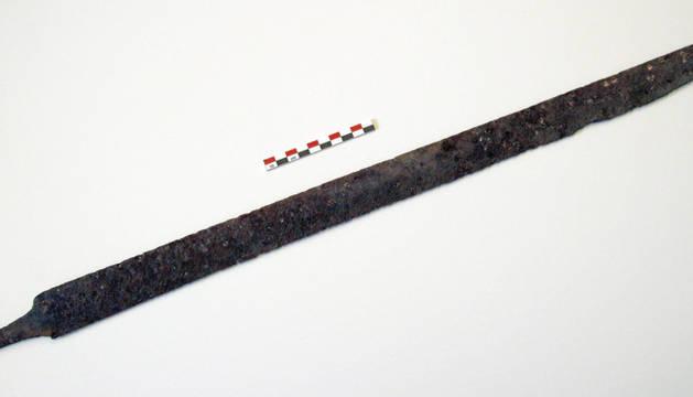 Hallan una espada vikinga de hace 1.200 años