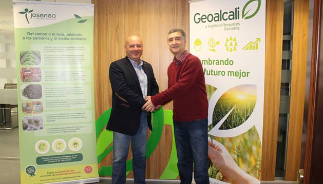 Josenea y Geoalcali suman fuerzas por el empleo