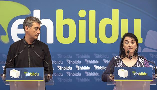 Sabino Cuadra, cabeza de lista de EH Bildu por Navarra al Congreso