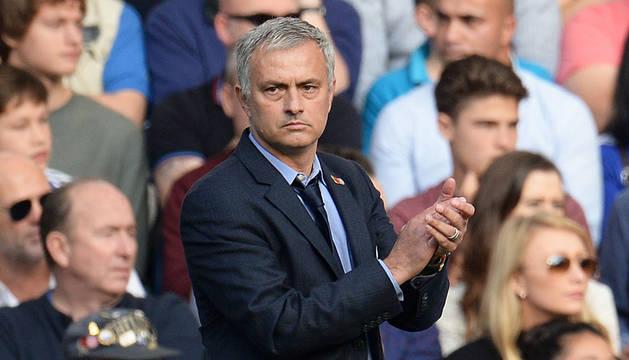 Mourinho, en Stamford Bridge.