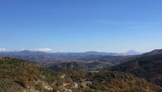Cielos despejados en el norte de Navarra este sábado.