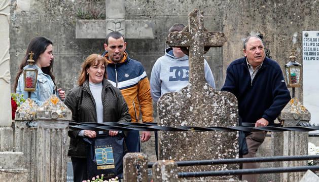 Los columbarios, a la cabeza en la demanda en el cementerio de Estella
