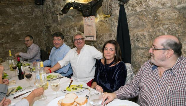 Las sociedades gastronómicas homenajean a Pepe Martínez