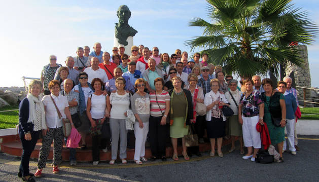 El club de jubilados, en Andalucía