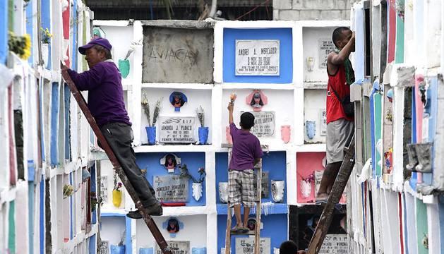 Todos los Santos en Filipinas