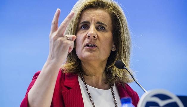 La ministra Fátima Báñez.