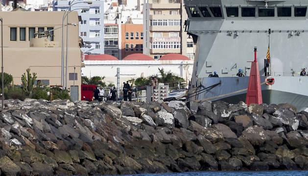 Llegan a Canarias los cuerpos de los militares españoles fallecidos